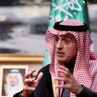 Menteri Luar Negeri Arab Saudi Adel al-Jubeir.