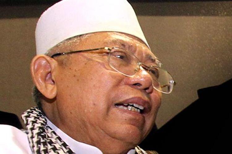 Ketua Majelis Ulama Indonesia (MUI) Maruf Amin.