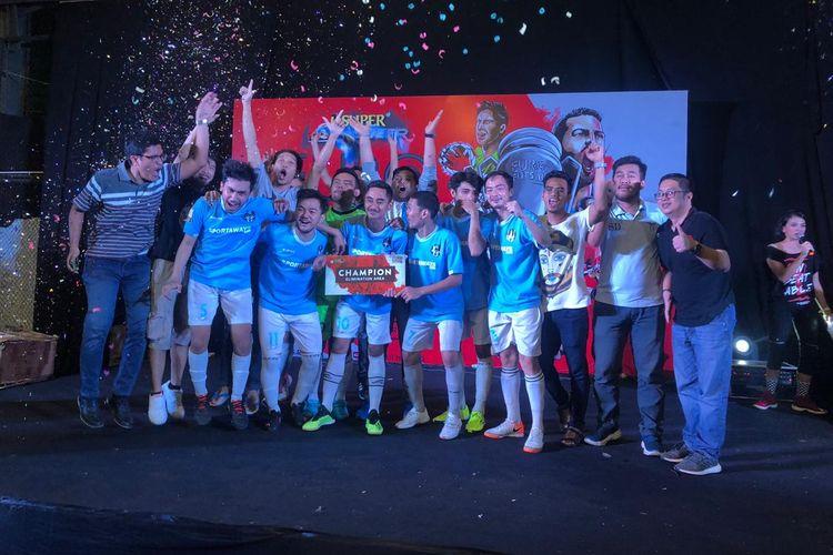 Sebanytak 4 tim DKI Raya lolos ke babak kualifikasi regional Euro Futsal Championship 2019