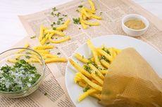 Cara Membuat Kentang Goreng Renyah ala Restoran Fast Food, Digoreng Dua Kali?