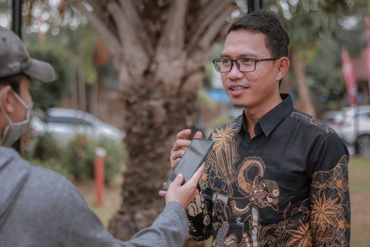 Ketua DPD Persatuan Konsultan Indonesia (Perkindo) Provinsi Banten Ahmad Muhibbin