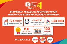 Di Puncak 11.11, ShopeePay Sukses Jual Voucher Rp 1 hingga 12 Kali Lebih Banyak