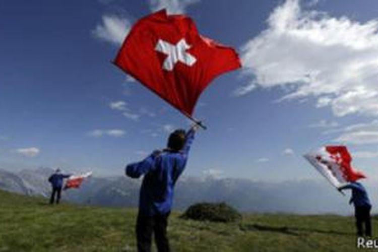 Lagu kebangsaan Swiss dianggap tak cerminkan nilai-nilai modern.