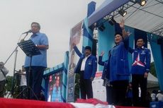 Di Tulungagung, SBY Buka Kampanye dengan Berita Duka