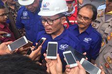 Menaker Ingatkan Pekerja Proyek Infrastruktur Profesional dalam K3