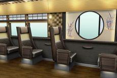 Jepang Rilis Kereta Wisata dengan Tema Penginapan Tradisional