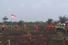 Upacara 17 Agustus di Lokasi Kebakaran Hutan, Dibayangi Api, Tanpa Prosesi Pengibaran Bendera