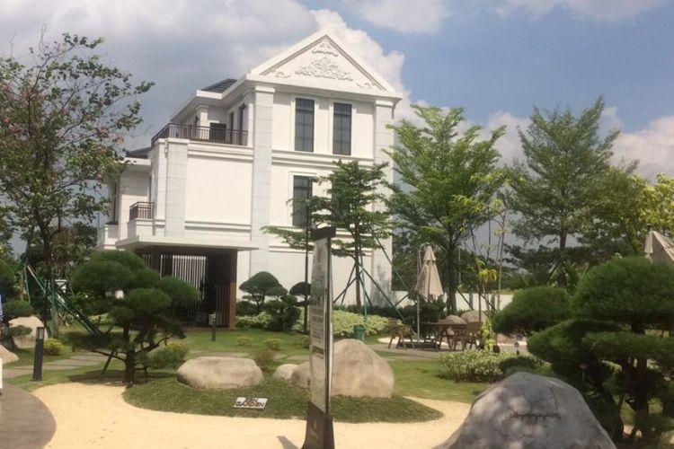 Kompleks perumahan Daisan ala Jepang yang dikembangkan Swancity.