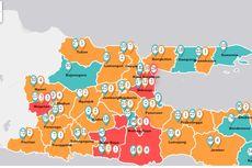 UPDATE: Peta Sebaran Covid-19 di Jatim, Surabaya Terbanyak Positif Terjangkit Corona
