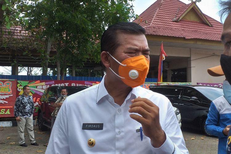 Wali Kota Pekanbaru Firdaus MT.