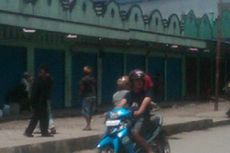 Protes Kinerja Polisi, Warga Wamena Mogok Bekerja