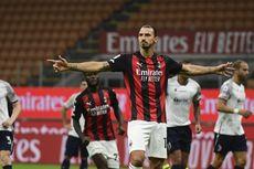 Teken Kontrak Baru di AC Milan, Ibrahimovic Memburu Francesco Totti