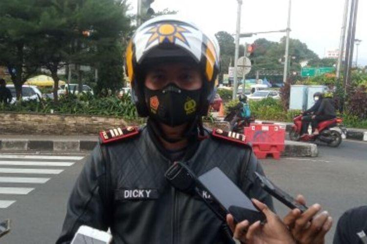 Kasat Lantas Polres Bogor AKP Dicky Pranata