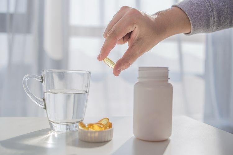 Ilustrasi vitamin untuk daya tahan tubuh