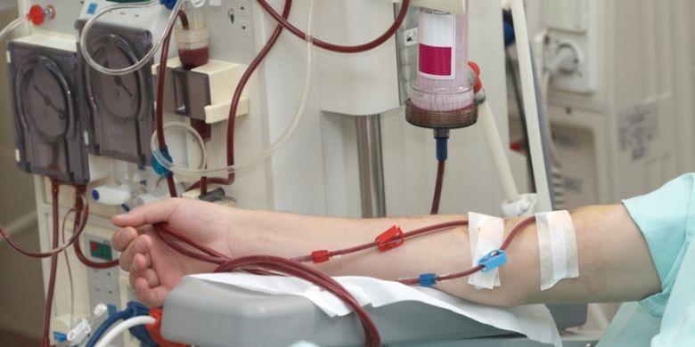 Illustration of dialysis.