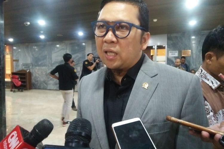 Ketua Komisi II DPR Ahmad Doli Kurnia Tandjung di Kompleks Parlemen, Senayan, Jakarta, Senin (25/11/2019).