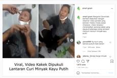 Viral Video Kakek Dipukuli karena Curi Minyak Kayu Putih di Minimarket, Ini Penjelasan Polisi