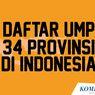 INFOGRAFIK: Daftar UMP 2020 di 34 Provinsi
