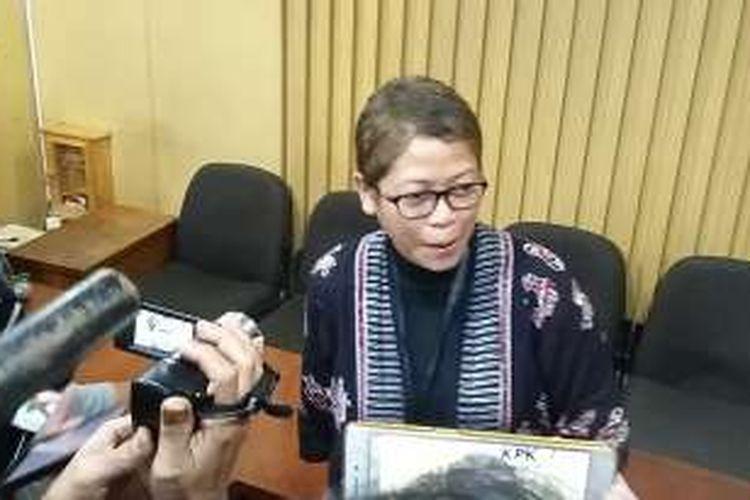 Pelaksana Harian Kepala Biro Humas KPK Yuyuk Andriati.