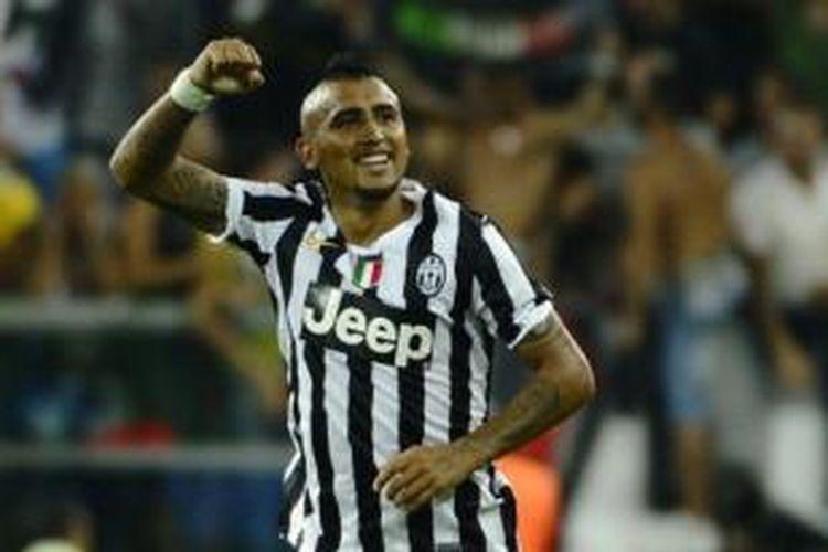 Gelandang Juventus, Arturo Vidal.
