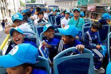 Tim Danone Nations Cup Indonesia Bertolak ke London