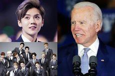 Luhan Eks EXO Jadi Trending di Amerika Gara-gara Joe Biden Salah Ucap