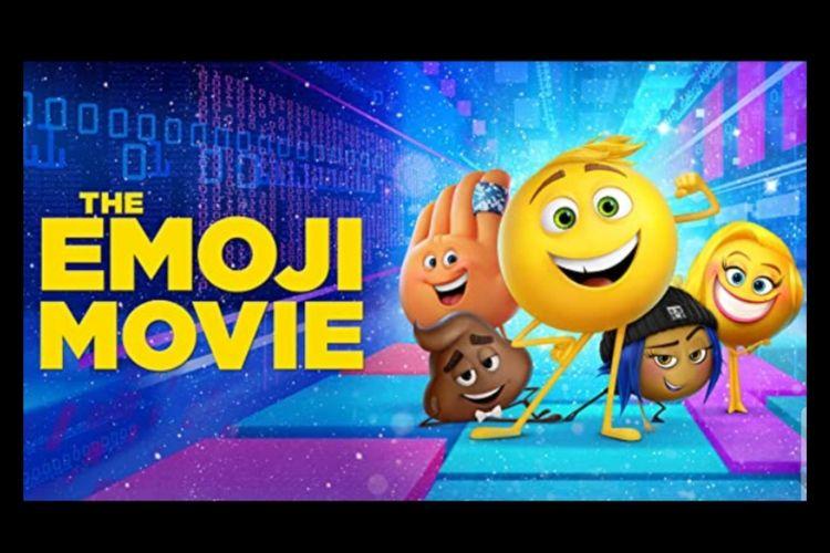 Poster film Film Emoji Movie (2017).