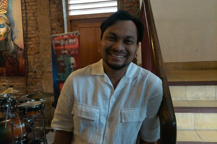Tompi saat ditemui di M Bloc Space, Jakarta Selatan, Senin (25/11/2019).
