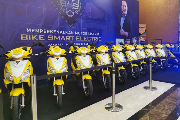 Bamsoet perkenalkan motor listrik baru Bike Smart Electric