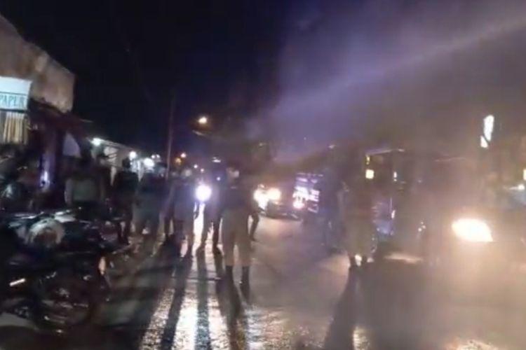 Operasi yustisi Satpol PP di Mijen Semarang