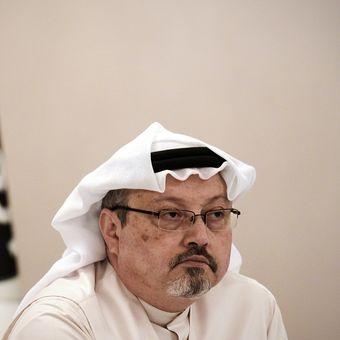Jurnalis Arab Saudi, Jamal Khashoggi.