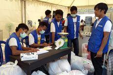 Di Posko Samsung, Korban Gempa Lombok Bisa