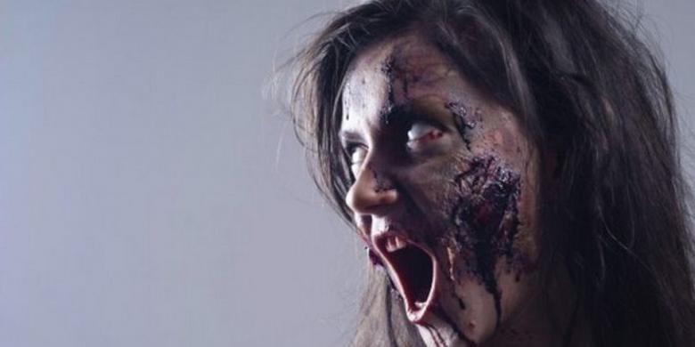 Ilustrasi zombie