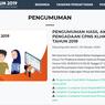 Pengumuman Hasil CPNS 2019 Kementerian LHK, Cek di Sini!