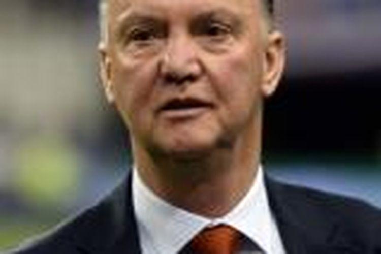 Pelatih tim nasional Belanda, Louis van Gaal.