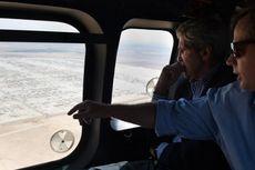 Menlu AS Kunjungi Kamp Pengungsi Suriah di Jordania