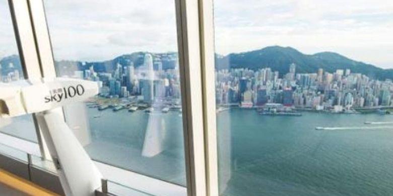 Ilustrasi Sky Terrace 100