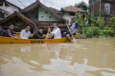 Banjir Terjang Kabupaten Bandung, Ribuan Warga Mengungsi