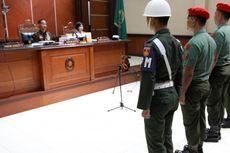 Hakim Juga Tolak Eksepsi Sertu Tri Dkk dan Serda Ikhmawan