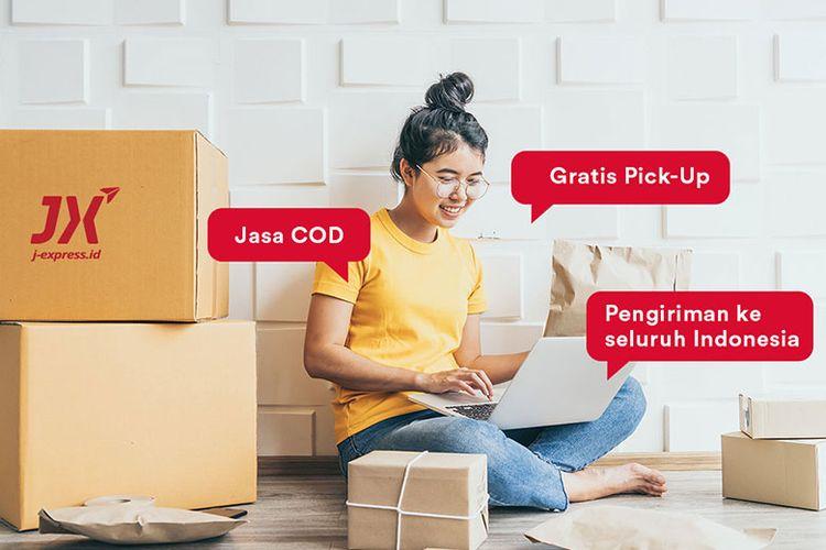 Ilustrasi pengiriman menggunakan JX Indonesia