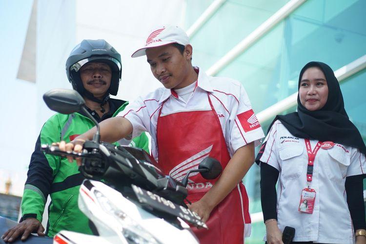 Main diler astra motor jateng memberikan program pelayanan PSBB kepada para konsumennya