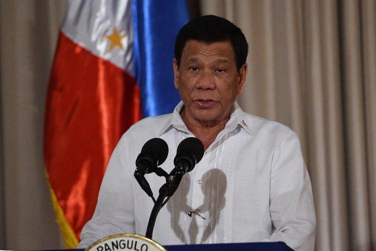 Presiden Filipina Rodrigo Duterte.