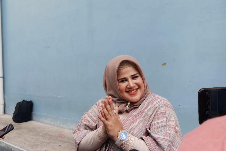 Artis Dhawiya Zaida saat ditemui di kawasan Tendean, Jakarta Selatan, Kamis (26/12/2019).