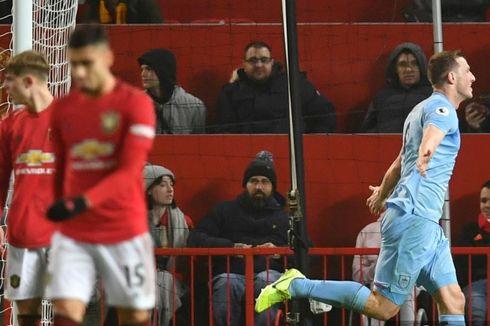 Highlight Manchester United Vs Burnley, Setan Merah Menanggung Malu