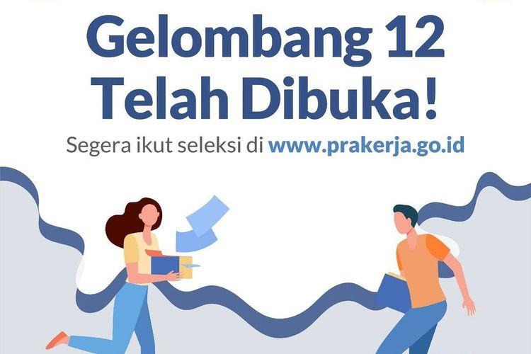 Segera Daftar, Kuota Kartu Prakerja Gelombang 12 untuk 600.000 Orang  Halaman all - Kompas.com