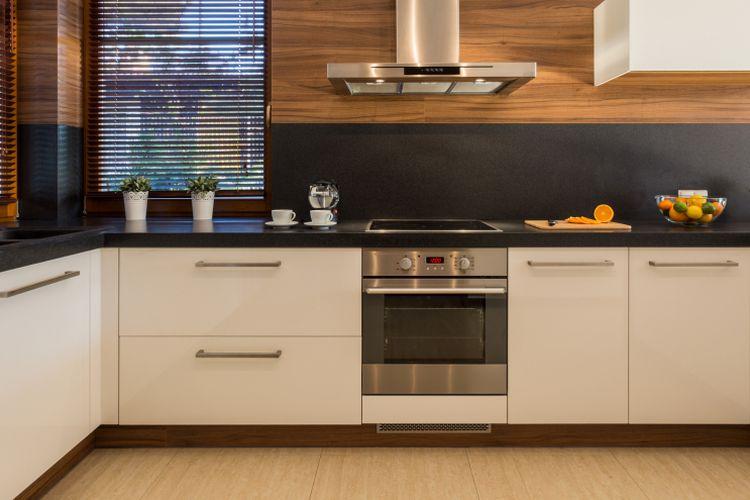 Salah satu ilustrasi dapur tipe U