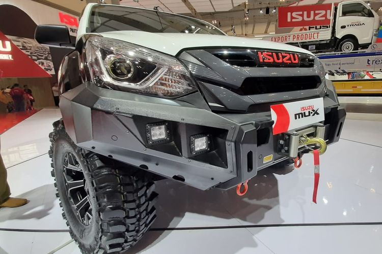 Modifikasi Isuzu MU-X di GIIAS 2019