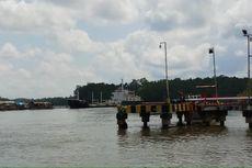 Aktivitas Bongkar Muat Kapal di Pelabuhan Pomako Timika Aman