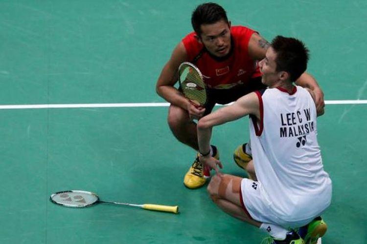 Lin Dan dan Lee Chong Wei