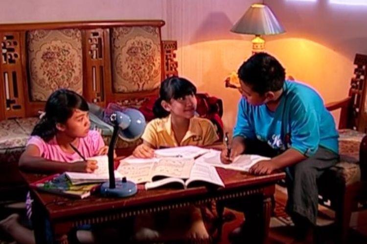 Tangkapan layar Belajar dari Rumah TVRI 8 September 2020 SD Kelas 4-6 tentang Sifat-Sifat Cahaya.